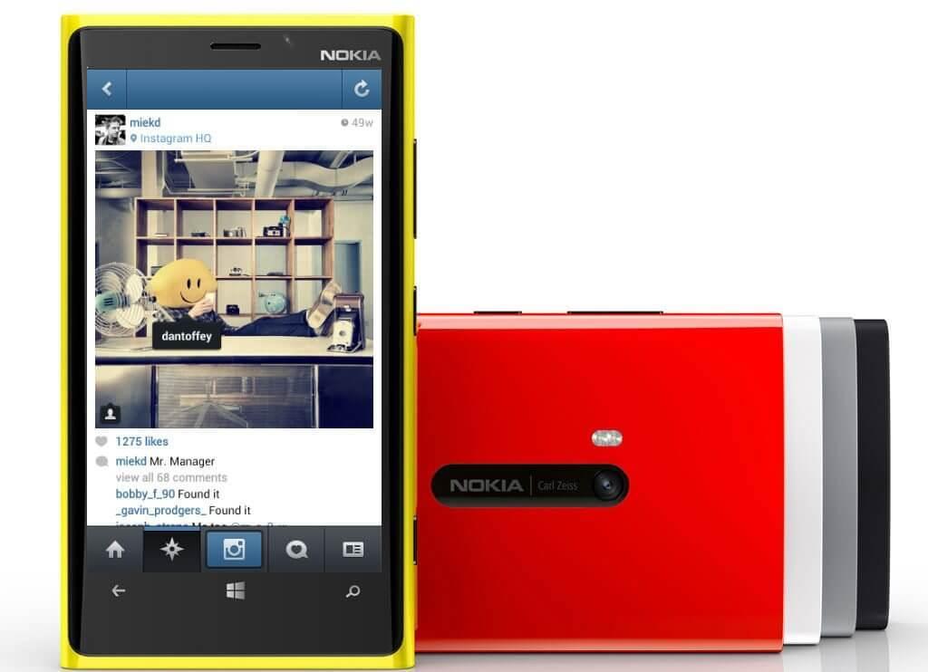 nokia lumia instagram - Instagram elimina fotos publicadas via Windows Phone