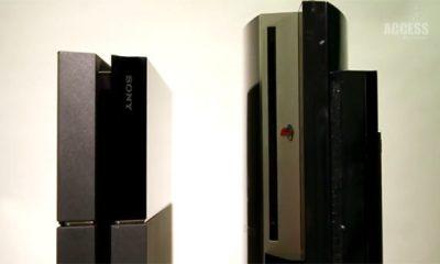 ps4 ps3 compara tamanho - Sony lança vídeo comparando tamanho do PS4 e PS3