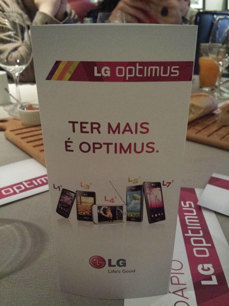 EventoLG SMT 14 - LG lança linha de smartphones Optimus LII