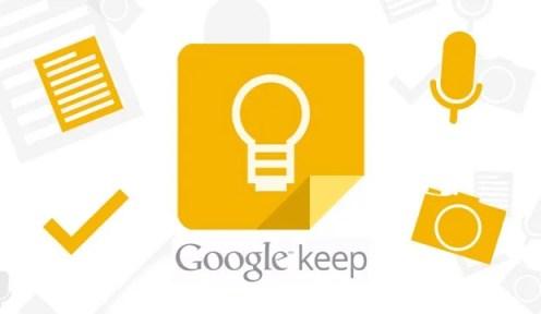 Google Keep - Atualização traz sistema de lembretes ao Google Keep