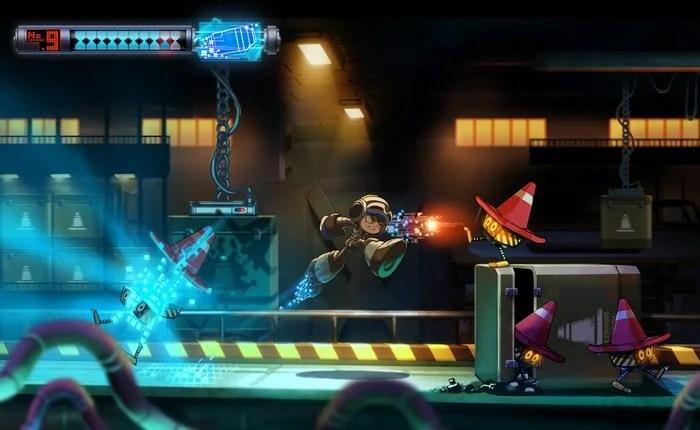 Might 9 - Mighty Nº 9: um sucessor do Mega Man chegou ao Kickstarter