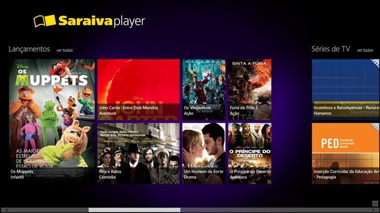 Saraiva lança sistema de compra e locação de filmes para Xbox One 6