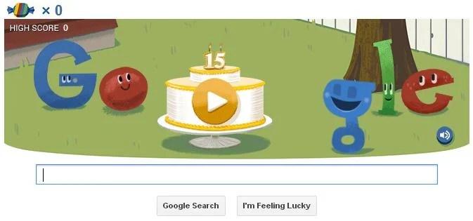 Google celebra 15 anos com Hummingbird e um divertido easter egg 4