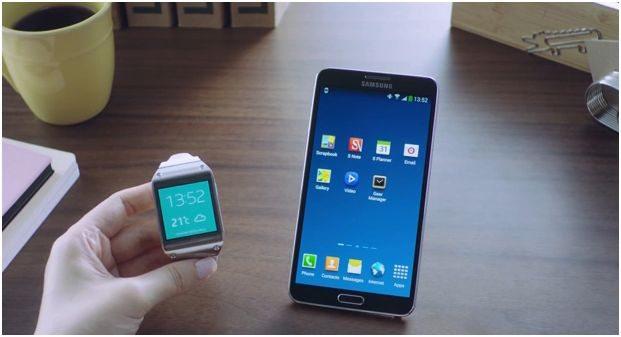 Samsung Galaxy Note 3 mostra como será a integração com o Gear 3