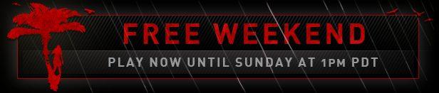 game page banner free weekend - Dead Island: Riptide - fim de semana grátis no Steam