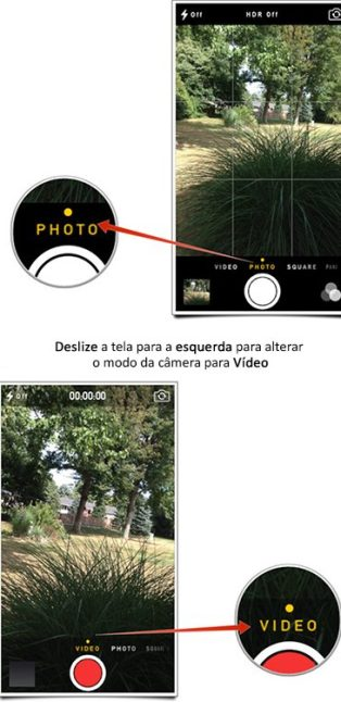 ios videocamera - Top 7 segredos do iOS 7 que todo mundo precisa saber!