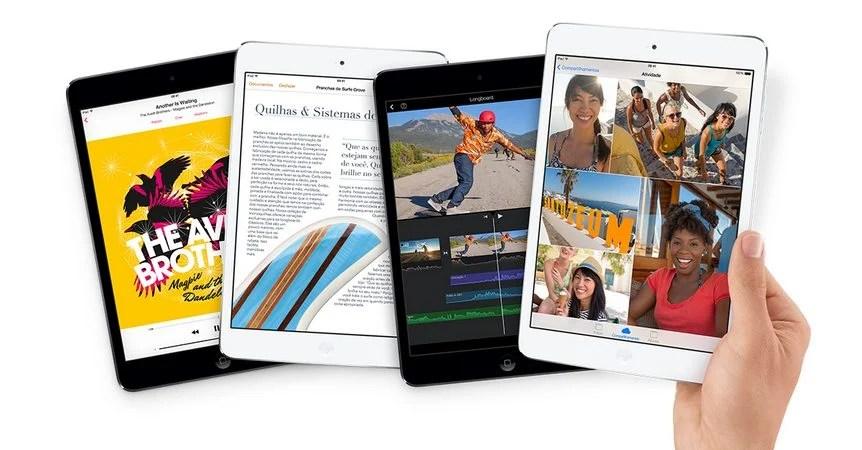 Novo iPad Mini com tela Retina