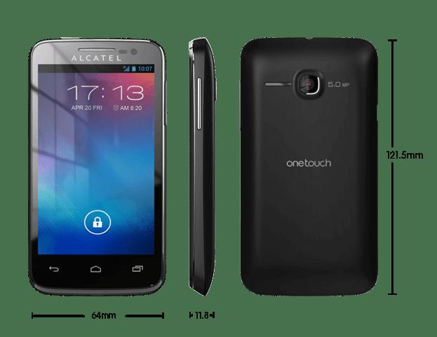 Alcatel One Touch M Pop OT5020E 184 - Review: smartphone Alcatel One Touch M'Pop (OT 5020E)