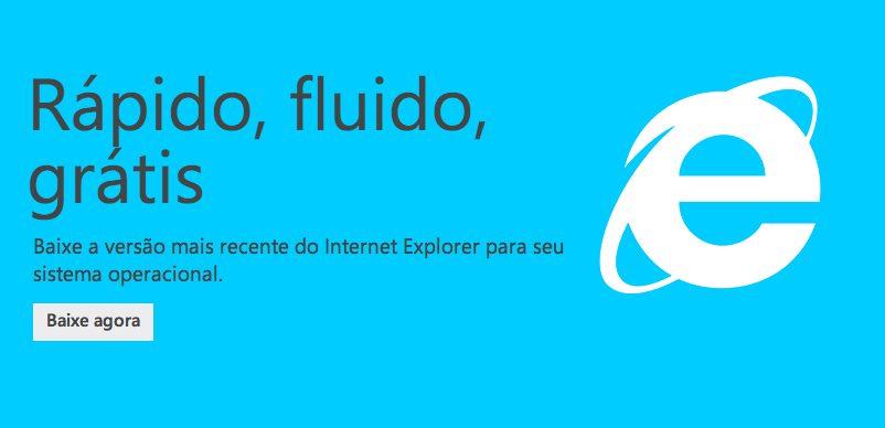 Internet Explorer 11 já está liberado para Windows 7