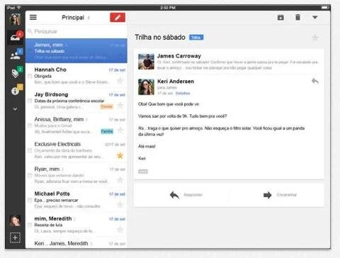 Gmail para iOS é atualizado