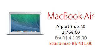 Oferta Apple MacBook Air