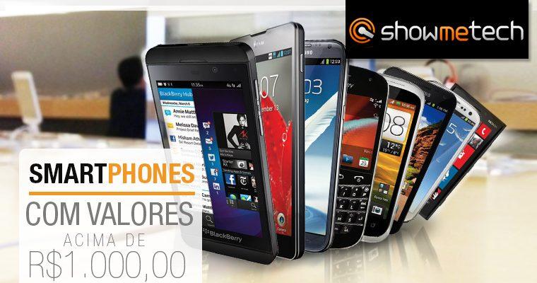Especial de Natal: os melhores smartphones acima de R$ 1.000