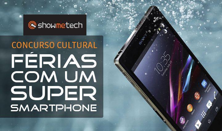 Concurso Cultural Showmetech Xperia Z1 - Concurso cultural: Férias com um super smartphone
