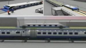 Designer chinês mostra trem que nunca pára 10