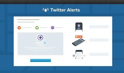 twitter alertas - Twitter Alertas chega ao Brasil
