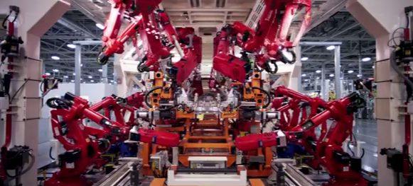 Vídeo mostra tecnologia na fabricação de carros / reprodução