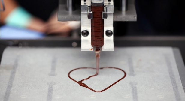 Impressora 3D para chocolates / reprodução