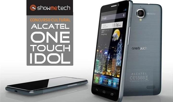 Concurso cultural smartphone alcatel one touch idol - Concurso cultural: Ano novo, smartphone novo!