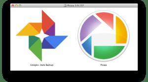 Picasa auto backup google+