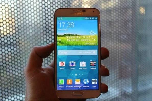 Foto do novo Galaxy S5 vazada horas antes do lançamento / reprodução Hardware Zone