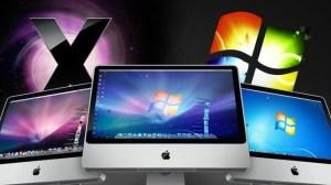 Windows x Mac OS X