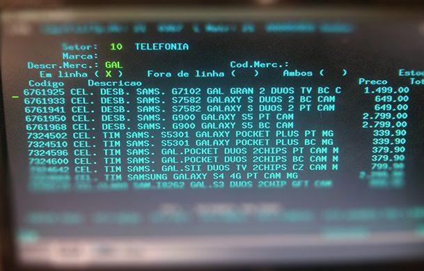 Tela do sistema onde aparece o preço do Galaxy S5 /  Reprodução: AndroidPIT