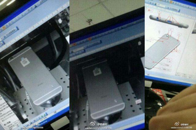 Fotos do suposto iPhone 6 divulgada em um site chinês / reprodução