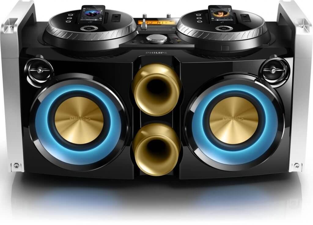 Philips lança aparelho de som dual dock para festas e DJs 3