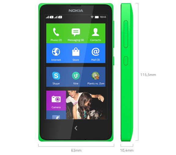 Captura de Tela 2014 06 18 às 11.44.34 - Smartphone Nokia X vai custar R$ 499 no Brasil