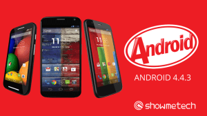 Em tempo recorde: Moto G, Moto X e Moto E recebem o Android 4.4.3 12
