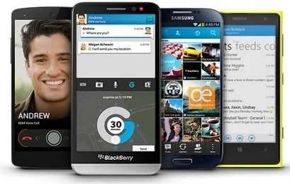 BBM Messenger Showmetech
