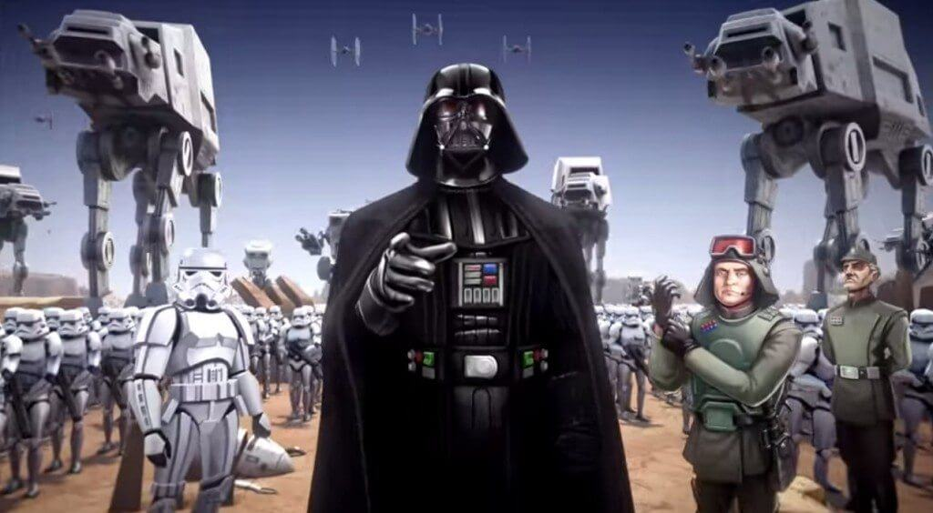darkside1 - Darth Vader é confirmado oficialmente em novo filme de Star Wars