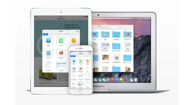 icloud drive ios 8 1 - iOS 8 é incompatível com o iCloud Drive e Dropbox