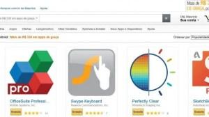 R$ 330,00 em apps de graça por tempo limitado na Amazon App Store