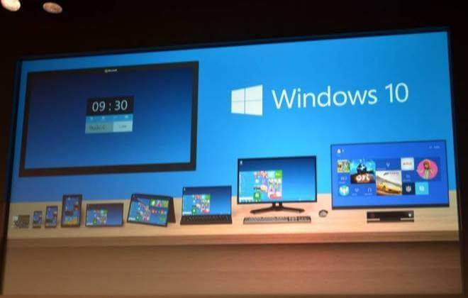 Windows 10 Microsoft sistema operacional