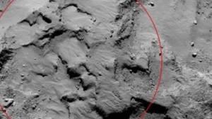 Sonda Rosetta tira foto do local de pouso em um cometa 9