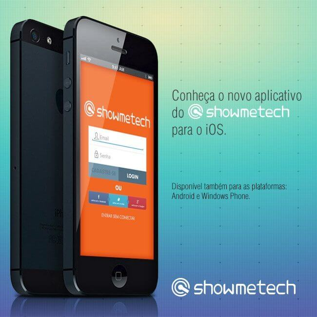 app showmetech ios - Showmetech ganha aplicativo para o iOS/iPhone