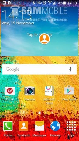 android 5 0 lollipop no samsung galaxy note 3 5 - Android 5.0 Lollipop para Note 3 - Preview