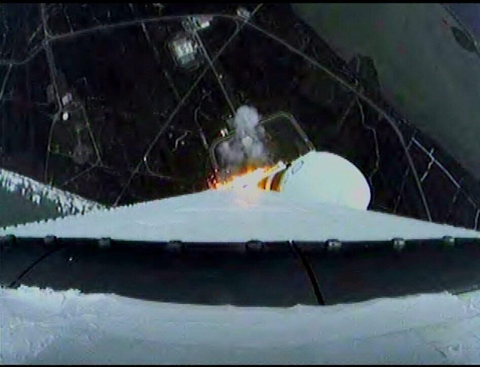 liftoff6 - Missão Orion é lançada com sucesso: assista ao lançamento (vídeo)