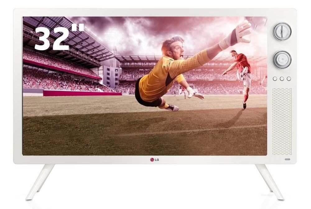 tv retro decade de 70 lg tv classic 32ln640r - LG lança TV retrô, com design inspirado na década de 70