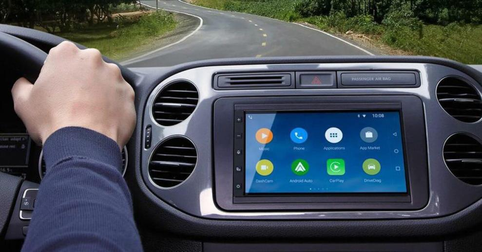 apertura apple android parrot - CES 2015: sistema de controle automotivo da Parrot integra usuários de Android e Apple
