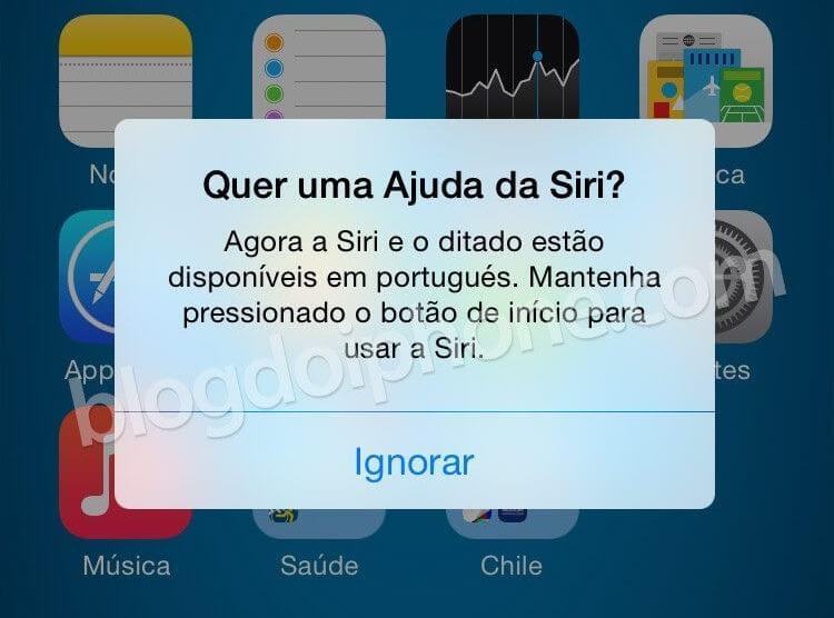 Siri, do iPhone, agora fala português 8