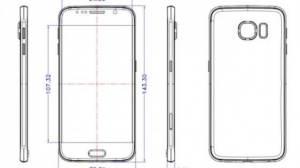 samsung galaxy s6 - Vazam desenhos com tamanho do Samsung Galaxy S6