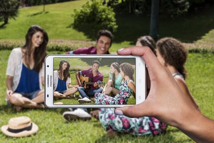 É do Brasil! Positivo apresenta sua nova linha de smartphones 7