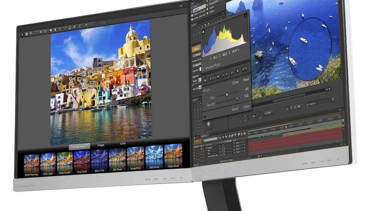 review 19DP6QJNS_Brilliance Monitor LCD LED 2 em 1