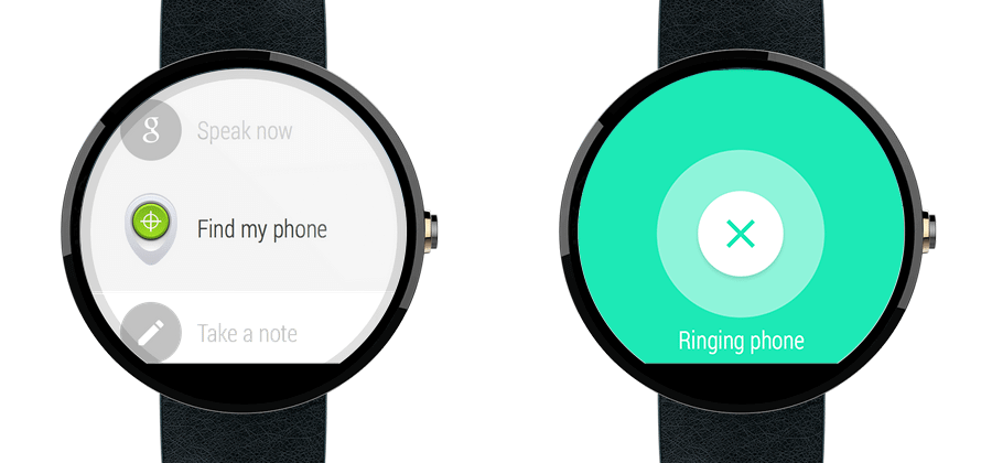 find your phone with android wear - Android Wear agora localiza seu smartphone Android