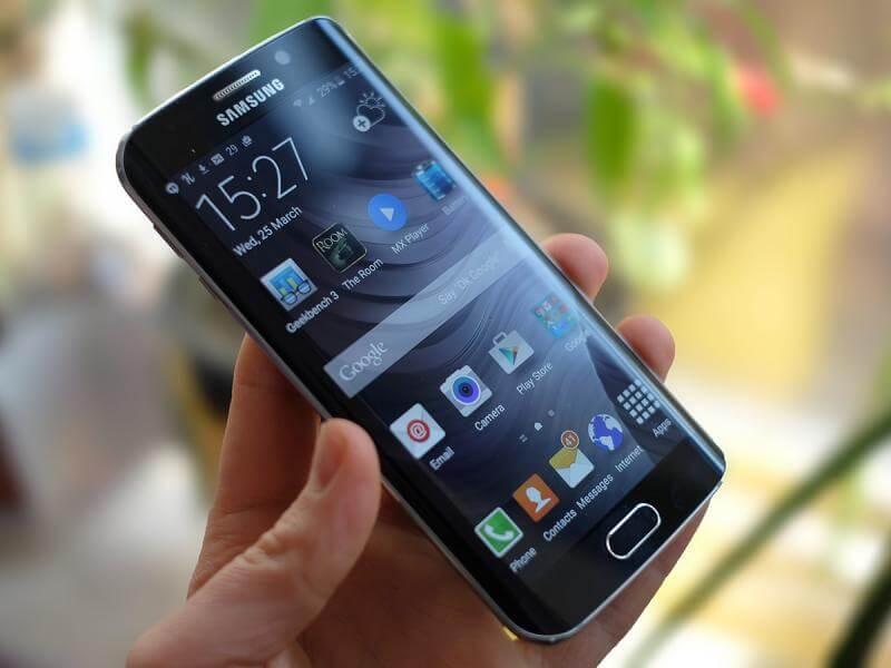 Teste de queda Galaxy S6 Edge S6 Samsung