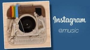 O Som ao Redor: Instagram lança a conta music para agregar sua vocação musical 9