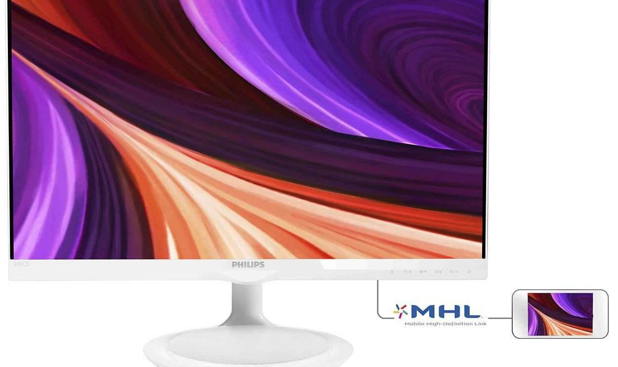 """245c5qhaw 57 ims pt br - Review: Monitor LED 23,8"""" Philips Full HD Widescreen (245C5QHAW)"""