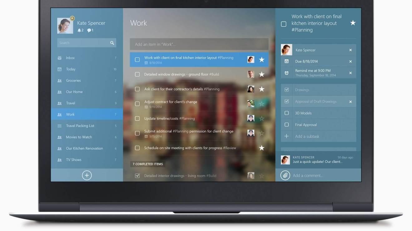 Rumor: Microsoft quer comprar aplicativo de lista de tarefas Wunderlist 4